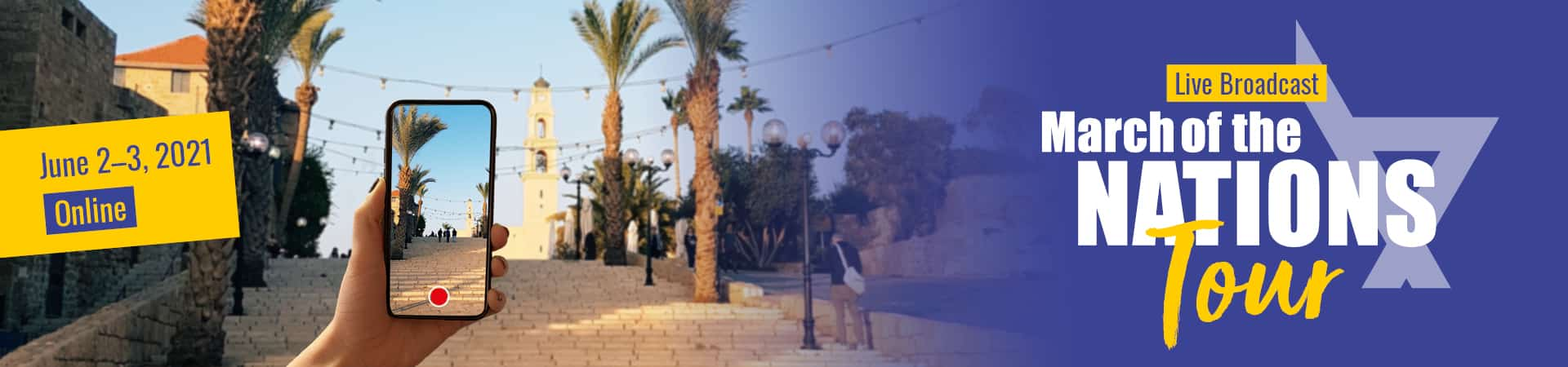 March of the Nations 2021 Israel Tour Online